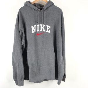 Nike Mens Hoodie Sweatshirt Spellout Pullover